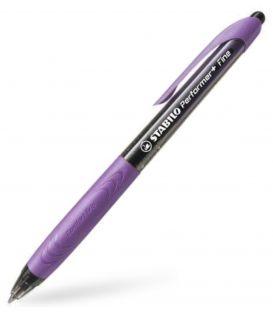 Στυλό Stabilo 328 Performer Fine Μαύρη Γραφή -Μωβ