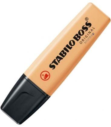 Μαρκαδόρος 70/125 Stabilo Υπογράμμισης Boss Pastel Pale Orange