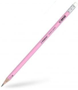 Μολύβι HB Stabilo 4908 Swano Pastel Ροζ