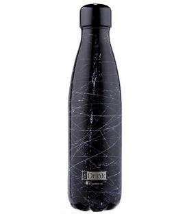 Παγούρι Θερμός 500ml iDrink Grunge Black id0088