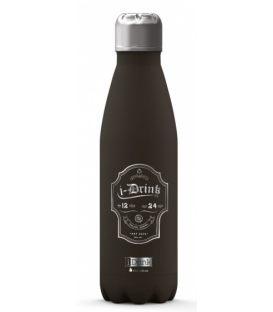 Παγούρι Θερμός 500ml iDrink Black id0039