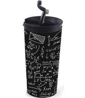 Ποτήρι Θερμός 350ml iDrink Ανοξείδωτo Travel Mug id0219 Math