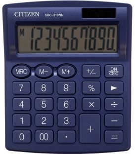 Αριθμομηχανή Citizen 10ψ SDC-8010NR Navy