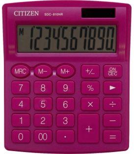 Αριθμομηχανή Citizen 10ψ SDC-8010NR Pink
