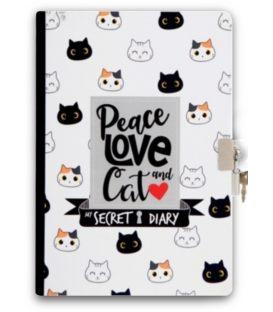 Σημειωματάριο A5 i-Total Cats Με Κλειδί
