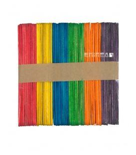 Ξυλάκια Παγωτού PaperF 48τ Μικρά Colors