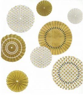 Βεντάλιες Artemio Χρυσό Colors 8τ