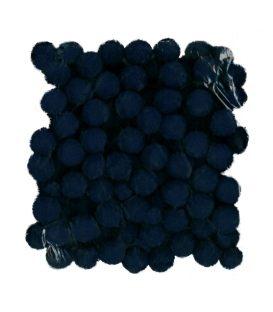Πομ Πομ Paperf 2cm 100τ Μπλε Σκούρο