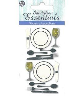 Αυτοκόλλητα Sandylion 3d Dinner