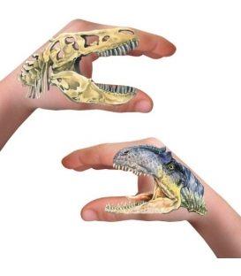 Tattoo Spiegelburg Hand-Tattoos T-Rex World