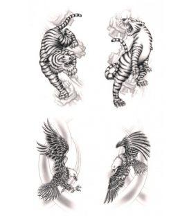 Tattoo Herma Tribal Animals