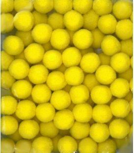 Πομ Πομ Paperf 2cm 100τ Κίτρινο