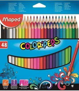 Ξυλομπογιές Maped 48χρ Star ColorPeps