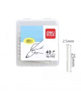 Ανταλλακτικά για Γόμα 40τ Deli Ηλεκτρική Φ2.5mmX25mm