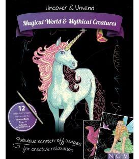 Ζωγραφική Uncover and unwind: Magical world and mythical creatures