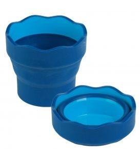 Δοχείο Τέμπερας & Νερομπογιάς Faber Castell Blue