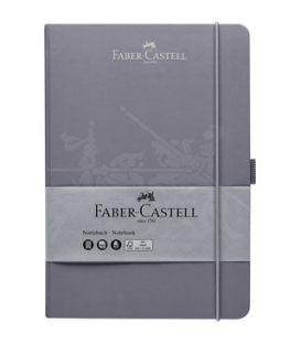 Σημειωματάριο Faber Castell Grey