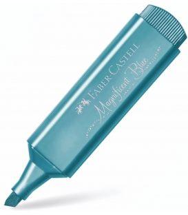 Μαρκαδόρος 46 Faber Castell Magnificent Blue Μetallic Textliner