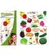 Λαχανικά Μαθαίνω διασκεδάζοντας + Δώρο cd, αφίσα