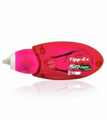 Διορθωτικό Ταινία Tipp-Ex 5mmX8m Micro Tape Twist Κόκκινο