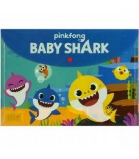 Φάκελος με Κουμπί Α4 PP Baby Shark334-63580