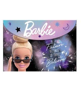 Φάκελος με Κουμπί Α4 PP Barbie 349-68580