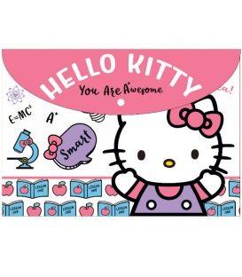 Φάκελος με Κουμπί Α4 PP Hello Kitty 335-68580
