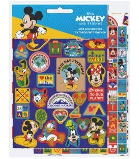 Αυτοκόλλητα GIM Mickey And Friends 600 Max Stickers