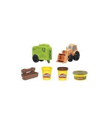 Πλαστελίνη Hasbro Play-Doh Tractor Οχήμα Κατασκευών