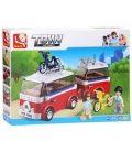 Τουβλάκια SLUBAN Small Camper Caravan B0566