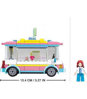 Τουβλάκια SLUBAN Gilrs Medical Car B0797