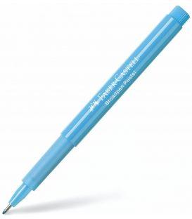 Μαρκαδοράκι 0.8 Faber Castell Βroadpen Pastel Light Blue Γαλάζιο