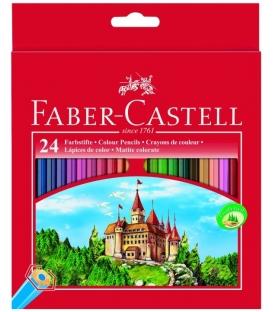 Ξυλομπογιές Faber Castell 24 Χρ.