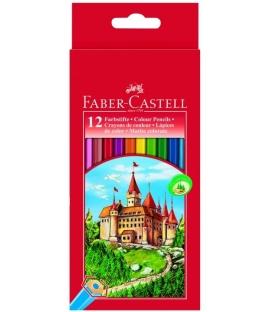 Ξυλομπογιές 12 Faber Castell