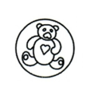 Σφραγίδα Για βουλοκέρι Αρκουδακι