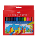 Μαρκαδόροι Faber Castell 12 χρ. Jumbo