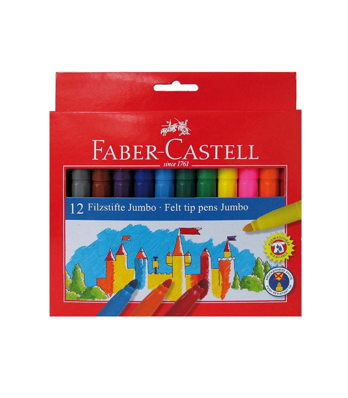 19e8e5f1af Μαρκαδόροι Faber Castell 12 χρ. Jumbo - ΕΠΙΠΕΔΟ ΒΙΒΛΙΟΠΩΛΕΙΟ ...