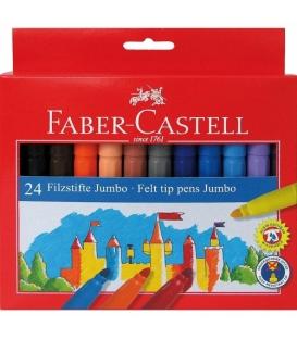 Μαρκαδόροι Faber Castell 24 χρ. Jumbo
