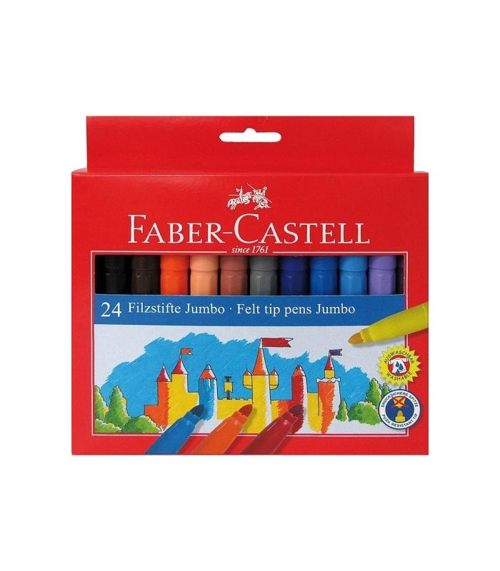 79f006e084 Μαρκαδόροι Faber Castell 24 χρ. Jumbo - ΕΠΙΠΕΔΟ ΒΙΒΛΙΟΠΩΛΕΙΟ ...