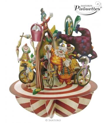 Κάρτα Τσίρκο 3D Santoro