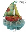 Κάρτα Καράβι 3D Santoro
