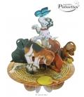 Κάρτα Σκυλάκια 3D Santoro