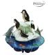 Κάρτα Πιγκουινοι 3D Santoro