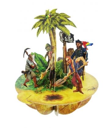 Κάρτα Πειρατές 3D Santoro