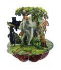 Κάρτα Ζούγκλα 3D Santoro