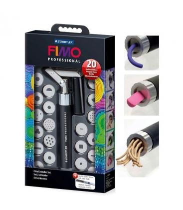 Σετ πιστόλι πηλού FIMO 20 σχέδια DISCS