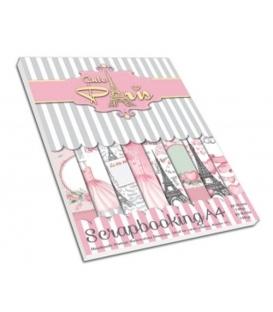 """Χαρτιά Άλμπουμ Scrapbooking """" Cute Paris"""""""