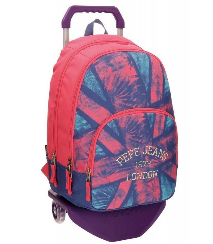 d64c27b577 Σχολική Τσάντα Trolley Pepe Jeans London - ΕΠΙΠΕΔΟ ΒΙΒΛΙΟΠΩΛΕΙΟ ...