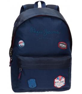 Σχολική τσάντα Pepe Jeans logo