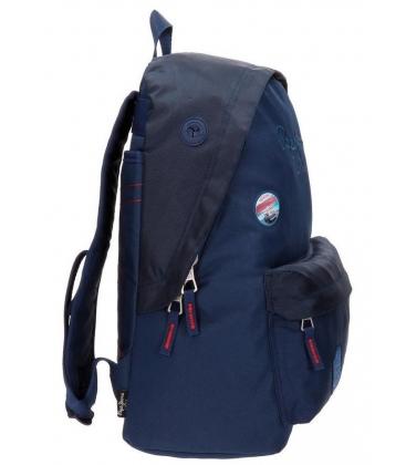 Σχολική τσάντα blue Pepe Jeans